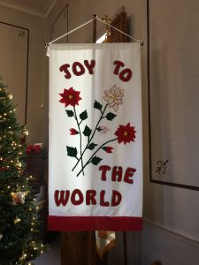 19 12 08 SMUMC Advent 2 Joy Banner