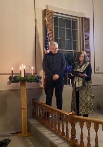 Lighting the Advent Wreath